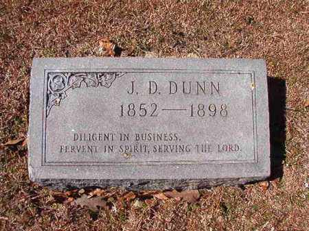 DUNN, J D - Dallas County, Arkansas | J D DUNN - Arkansas Gravestone Photos