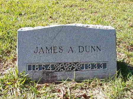 DUNN, JAMES A - Dallas County, Arkansas | JAMES A DUNN - Arkansas Gravestone Photos