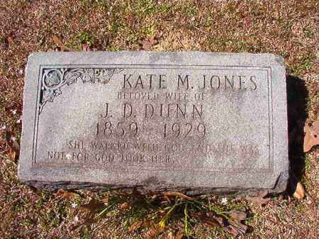 JONES DUNN, KATE M - Dallas County, Arkansas | KATE M JONES DUNN - Arkansas Gravestone Photos