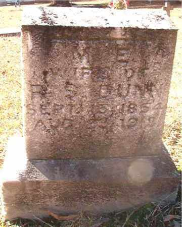 DUNN, M E - Dallas County, Arkansas | M E DUNN - Arkansas Gravestone Photos