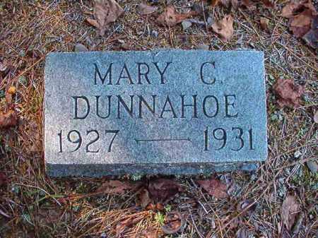 DUNNAHOE, MARY C - Dallas County, Arkansas | MARY C DUNNAHOE - Arkansas Gravestone Photos