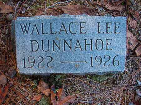 DUNNAHOE, WALLACE LEE - Dallas County, Arkansas | WALLACE LEE DUNNAHOE - Arkansas Gravestone Photos