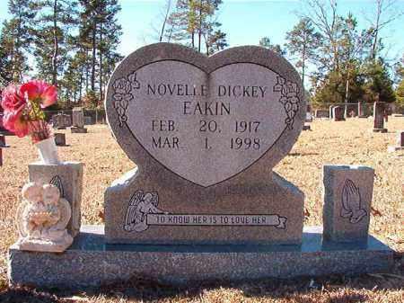 EAKIN, NOVELLE - Dallas County, Arkansas | NOVELLE EAKIN - Arkansas Gravestone Photos