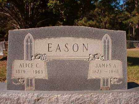 EASON, JAMES A - Dallas County, Arkansas | JAMES A EASON - Arkansas Gravestone Photos