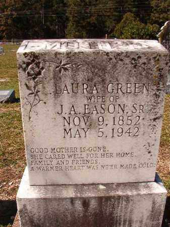 GREEN EASON, LAURA - Dallas County, Arkansas | LAURA GREEN EASON - Arkansas Gravestone Photos