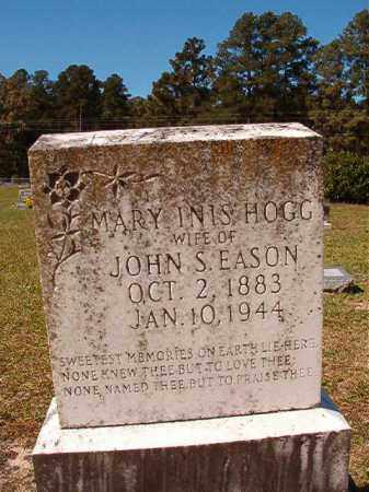 HOGG EASON, MARY INIS - Dallas County, Arkansas | MARY INIS HOGG EASON - Arkansas Gravestone Photos