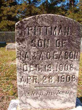 EASON, PITTMAN - Dallas County, Arkansas | PITTMAN EASON - Arkansas Gravestone Photos
