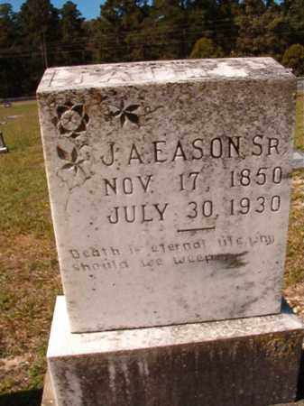 EASON, SR, J A - Dallas County, Arkansas | J A EASON, SR - Arkansas Gravestone Photos