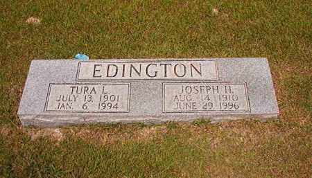 EDINGTON, JOSEPH H - Dallas County, Arkansas | JOSEPH H EDINGTON - Arkansas Gravestone Photos
