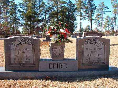 HUDSON EFIRD, ELMA - Dallas County, Arkansas | ELMA HUDSON EFIRD - Arkansas Gravestone Photos