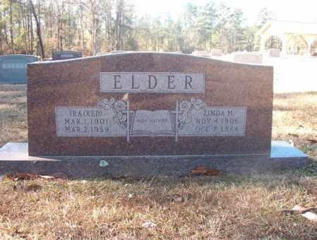 ELDER, ZINDA M - Dallas County, Arkansas | ZINDA M ELDER - Arkansas Gravestone Photos