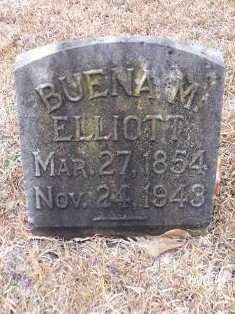 JORDAN, BUENA M ELLIOTT - Dallas County, Arkansas | BUENA M ELLIOTT JORDAN - Arkansas Gravestone Photos