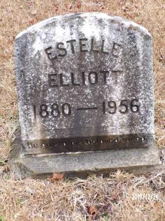 ELLIOTT, ESTELLE - Dallas County, Arkansas | ESTELLE ELLIOTT - Arkansas Gravestone Photos