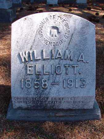 ELLIOTT, WILLIAM A - Dallas County, Arkansas | WILLIAM A ELLIOTT - Arkansas Gravestone Photos