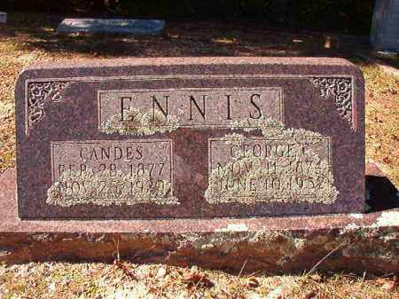 ENNIS, CANDES - Dallas County, Arkansas | CANDES ENNIS - Arkansas Gravestone Photos