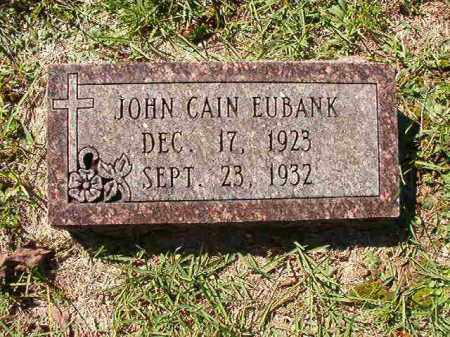 EUBANK, JOHN CAIN - Dallas County, Arkansas | JOHN CAIN EUBANK - Arkansas Gravestone Photos