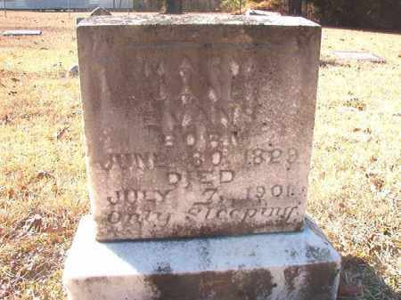 EVANS, MARY JANE - Dallas County, Arkansas | MARY JANE EVANS - Arkansas Gravestone Photos