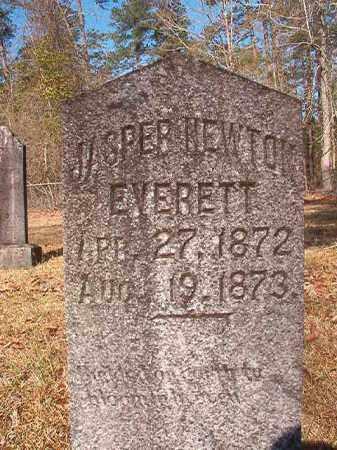 EVERETT, JASPER NEWTON - Dallas County, Arkansas | JASPER NEWTON EVERETT - Arkansas Gravestone Photos