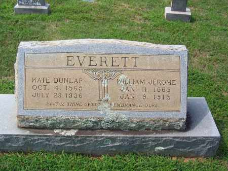 EVERETT, WILLIAM JEROME - Dallas County, Arkansas | WILLIAM JEROME EVERETT - Arkansas Gravestone Photos