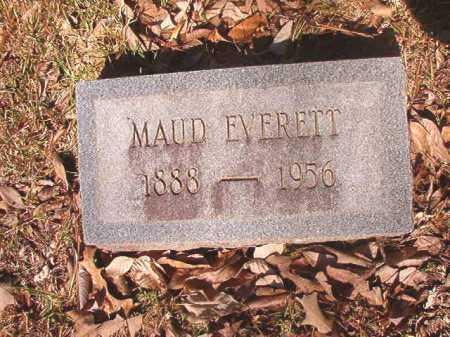 EVERETT, MAUD - Dallas County, Arkansas | MAUD EVERETT - Arkansas Gravestone Photos