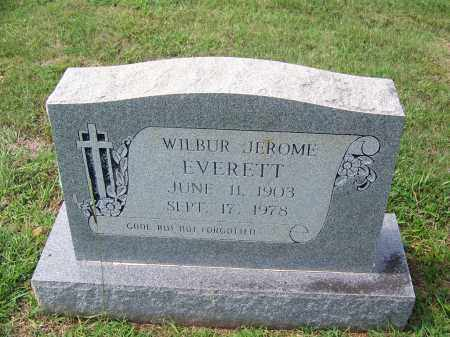 EVERETT, WILBUR JEROME - Dallas County, Arkansas | WILBUR JEROME EVERETT - Arkansas Gravestone Photos