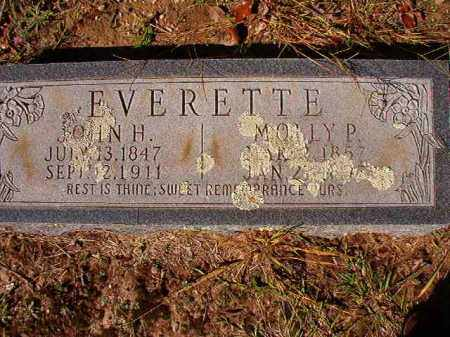 EVERETTE, MOLLY P - Dallas County, Arkansas | MOLLY P EVERETTE - Arkansas Gravestone Photos