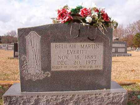 MARTIN EVERITT, BEULAH - Dallas County, Arkansas | BEULAH MARTIN EVERITT - Arkansas Gravestone Photos