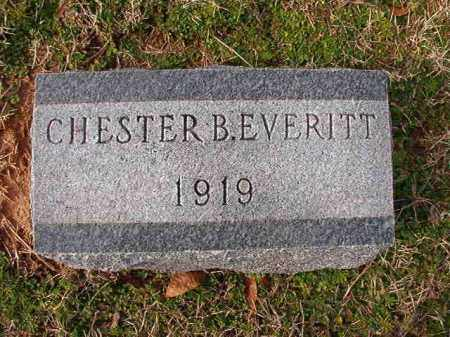 EVERITT, CHESTER B - Dallas County, Arkansas | CHESTER B EVERITT - Arkansas Gravestone Photos