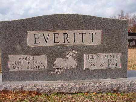 LAUNIUS EVERITT, HELEN - Dallas County, Arkansas | HELEN LAUNIUS EVERITT - Arkansas Gravestone Photos