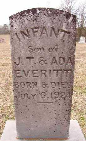 EVERITT, INFANT SON - Dallas County, Arkansas | INFANT SON EVERITT - Arkansas Gravestone Photos