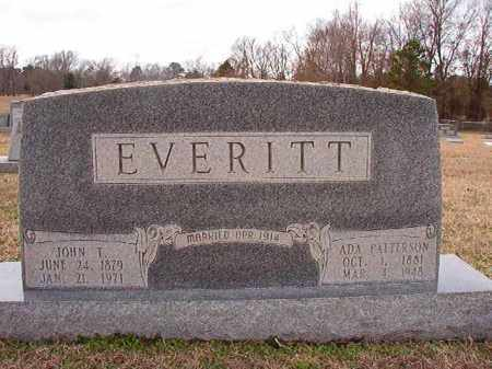 EVERITT, JOHN T - Dallas County, Arkansas | JOHN T EVERITT - Arkansas Gravestone Photos