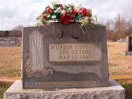 EVERITT, WILLIAM T - Dallas County, Arkansas | WILLIAM T EVERITT - Arkansas Gravestone Photos
