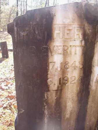 EVERITT, W B - Dallas County, Arkansas | W B EVERITT - Arkansas Gravestone Photos