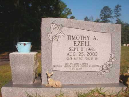 EZELL, TIMOTHY A - Dallas County, Arkansas | TIMOTHY A EZELL - Arkansas Gravestone Photos