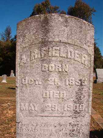 FIELDER, A R - Dallas County, Arkansas | A R FIELDER - Arkansas Gravestone Photos