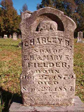FIELDER, CHARLEY B - Dallas County, Arkansas | CHARLEY B FIELDER - Arkansas Gravestone Photos