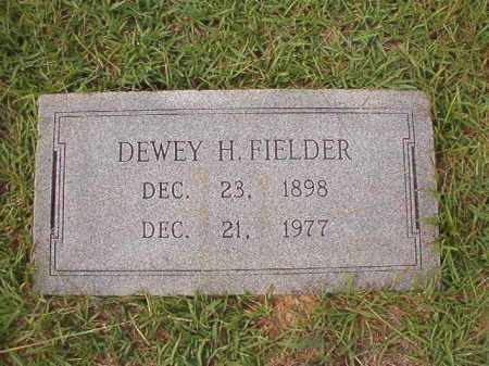 FIELDER, DEWEY H - Dallas County, Arkansas | DEWEY H FIELDER - Arkansas Gravestone Photos