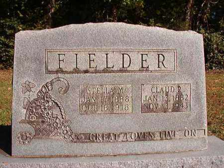 FIELDER, CLAUD R - Dallas County, Arkansas | CLAUD R FIELDER - Arkansas Gravestone Photos