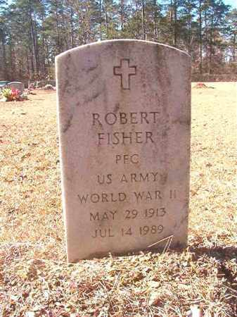 FISHER (VETERAN WWII), ROBERT - Dallas County, Arkansas | ROBERT FISHER (VETERAN WWII) - Arkansas Gravestone Photos