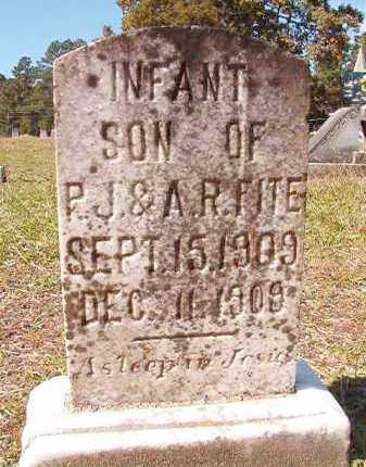 FITE, INFANT SON - Dallas County, Arkansas | INFANT SON FITE - Arkansas Gravestone Photos
