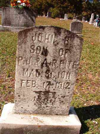 FITE, JOHN B - Dallas County, Arkansas | JOHN B FITE - Arkansas Gravestone Photos