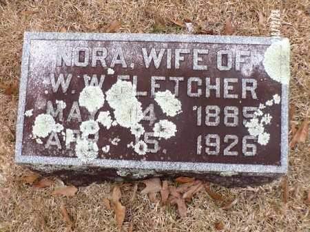 FLETCHER, NORA - Dallas County, Arkansas   NORA FLETCHER - Arkansas Gravestone Photos