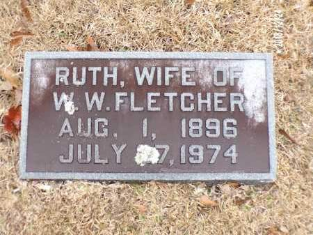 FLETCHER, RUTH - Dallas County, Arkansas | RUTH FLETCHER - Arkansas Gravestone Photos