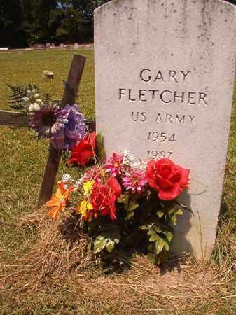FLETCHER (VETERAN), GARY - Dallas County, Arkansas | GARY FLETCHER (VETERAN) - Arkansas Gravestone Photos