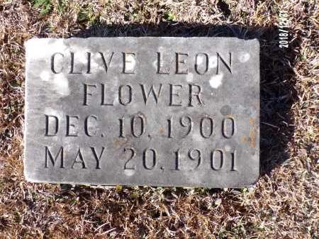 FLOWER, CLIVE LEON - Dallas County, Arkansas | CLIVE LEON FLOWER - Arkansas Gravestone Photos