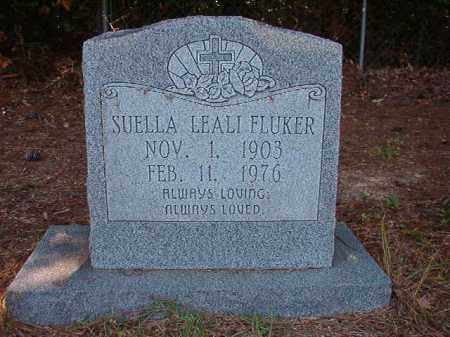 FLUKER, SUELLA LEALI - Dallas County, Arkansas | SUELLA LEALI FLUKER - Arkansas Gravestone Photos