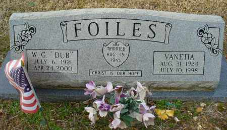 FOILES, VANETIA - Dallas County, Arkansas | VANETIA FOILES - Arkansas Gravestone Photos