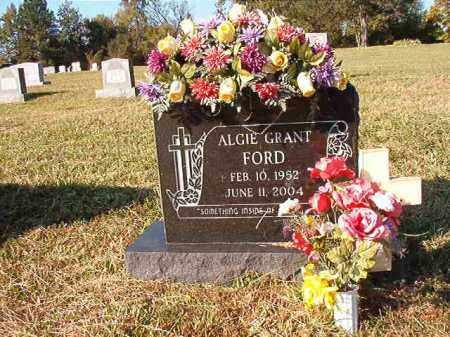 FORD, ALGIE GRANT - Dallas County, Arkansas   ALGIE GRANT FORD - Arkansas Gravestone Photos