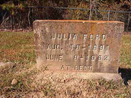 FORD, JULIA - Dallas County, Arkansas | JULIA FORD - Arkansas Gravestone Photos