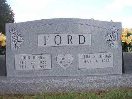 FORD, JOHN HENRY - Dallas County, Arkansas | JOHN HENRY FORD - Arkansas Gravestone Photos